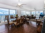 Spacious Dinning Room With Gorgeous Ocean And Marina Views!
