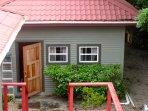 A detached unit of a beach house near Maya Beach Hotel.