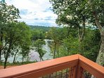 More views of the river, listen to the rapids from the deck as you enjoy your morning coffee