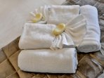 Linen and towels are included and there is a weekly service.