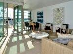 Open plan sunny living area
