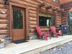 Cabin1 Front Deck