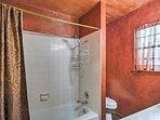 The master bedroom features an en suite bathroom.
