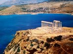 Poseidon temple in Sounio
