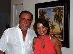 Proud owners Jorge Garcia-Pulido & wife Monica low Pulido