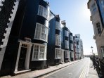 Located in a most picturesque street, this ancient, grade-II listed town house