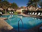 The large swimming pool area at Gold Coast Aruba!