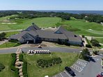 The Currituck Club golf course, driving range and clubhouse, greens fee discount for our guests!