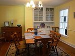 Plenty of space in the dining room!