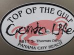Top of The Gulf...small complex right on the beach in Panama City Beach
