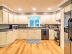 Prepare delicious home-cooked meals in this fully equipped kitchen.