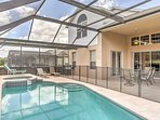 Get ready for a magical Disney experience at this 6-bedroom, 3.5-bathroom Kissimmee vacation rental home which features...