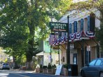 The Historic town of Murphys has goldrush flair and 26 wine-tasting stops