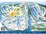 Bear Valley has long groomed runs and powder trails as well