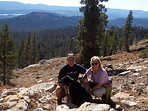 The Woodchuck Basin Trail at 8,000 feet is one of our favorite, dog-friendly hikes