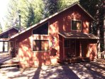 Charming chalet-style cabin in the woods at 5,000 feet in Central Sierras