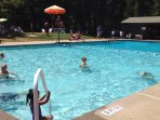 Big Trees Rec Center is just a short walk or drive, with large, inviting pool
