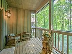 Step out of Bedroom 3 onto the private screened-in porch and enjoy the scenery