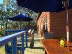 The deck - Arinya Lodge