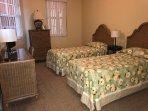 Guest bedroom twin beds