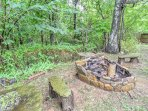 Gather around the fire pit and roast marshmallows and tell ghost stories.