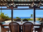 Outdoor Dining Ocean Views..