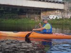Kayaking with Piotr from Outdoor Explore