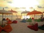 Seminyak Beach sunsets