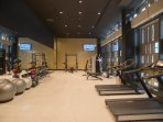 Gym is also on the ground floor and accessible to our guests