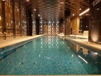 Guests have access to swimming pool and SPA located on the ground floor of the apartment building