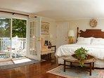 Master bedroom - oceanview deck - imported Italian linens - orientals