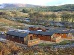 View of Lochaber Lodges