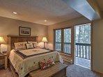 Sleep like royalty in the inviting master bedroom.