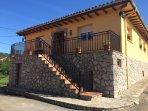 Casa vacacional en Llames de Parres, un pueblo de Asturias