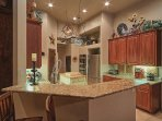 KITCHEN - GRANITE COUNTERS - STAINLESS APPLIANCES