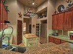KITCHEN WITH EVERYTHING YOU NEED FOR AN AMAZING HOLIDAY MEAL!