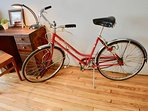 Cruise around the city with a Vintage Bike (Bike Rentable Upon Request)