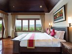 Master Bedroom 2 (48m2) with private terrace and patio