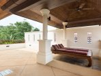 45 m2 private terrace of Master bedroom 2 with patio