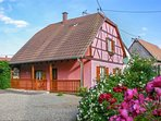 A traditional, 3 bedroom house with terrace and garden – 35km from strasbourg!