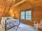 You'll find a queen-sized bed in the third bedroom.
