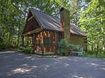 You'll never want to leave this peaceful woodland getaway.
