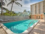 Grab your swim trunks and jet down to Hollywood, Florida to stay at this splendid 1-bedroom, 1.5-bathroom vacation...