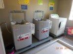 Public laundry on the ground floor
