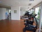 Fitness center on 5 floor