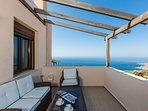 Balconies with great sea views!