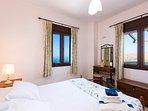 The bedrooms has amazing sea views!