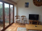Sunny South Facing Lounge with fully opening Bi fold doors