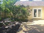 New deck (back yard)