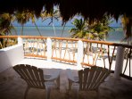 Step onto the balcony of the master bedroom and enjoy the view of the Caribbean